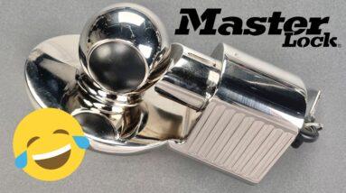 [1356] A Master Lock I Should FEAR?!? Model 377 Trailer Lock