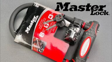 [1357] Extraordinarily Average: Master Lock Bike Lock (Model 8195D)