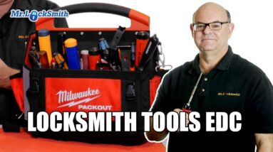 Locksmith Tools EDC Review   Mr. Locksmith™ Video